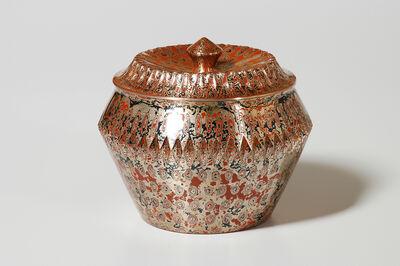 Tamagawa Norio, 'Mokume-gane Covered Jar 028', 1991