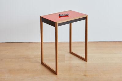 Gavin Turk, 'Payne's Grey (Albers Table)', 2016