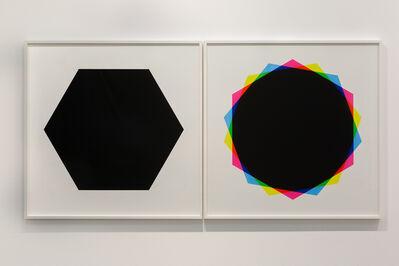 Hamra Abbas, 'Misprint 3 (Diptych), 2019', 2019