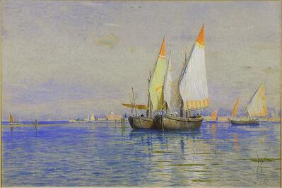 William Stanley Haseltine, 'Fishing Boats, Venice', ca. 1881