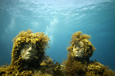 Jason deCaires Taylor, 'The Silent Evolution (2)', 2012