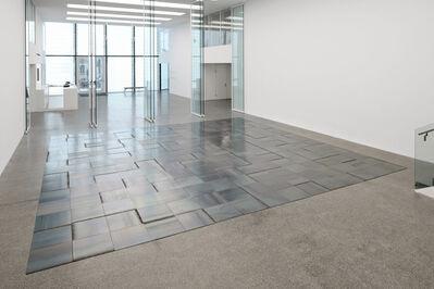 Carl Andre, '15 x 15 napoli square', 2010