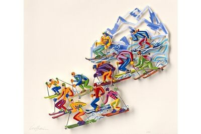 David Gerstein, 'Cross Country - Paper Cut', 2007