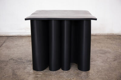 Brian Thoreen, 'Black Rubber Center Table', 2019