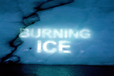 David Buckland, 'Ice Texts', 2005-2010