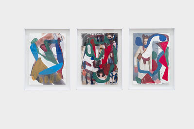 Herman Mbamba, 'Untitled 6, 4 and 5', 2017