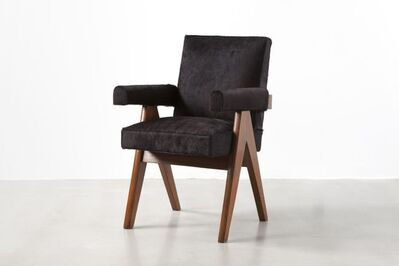 "Pierre Jeanneret, '""Senat"" chair', ca. 1959-60"