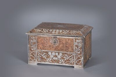 Attributed to Josef Hoffmann, 'Wiener Werkstatte School, Vienna, Jewellery case.', ca. 1906