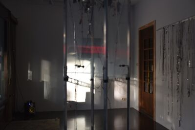 Jens Standke, 'Transparent Tape Machine', 2016