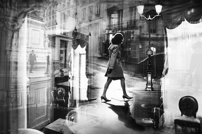 Sarah Hadley, 'Crossing Paris', 2019
