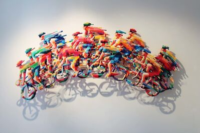David Gerstein, 'Peloton Wave - Big B', 2008