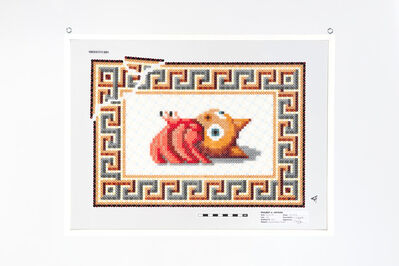 Charles Degeyter, 'Hermit Mosaic #1 Feles', 2019