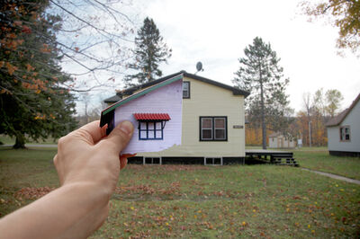 Clarissa Tossin, 'Alberta House 3 from the series,  When Two Places Look Alike', 2012