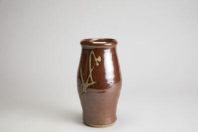 Shōji Hamada, 'Vase, persimmon glaze', n/a