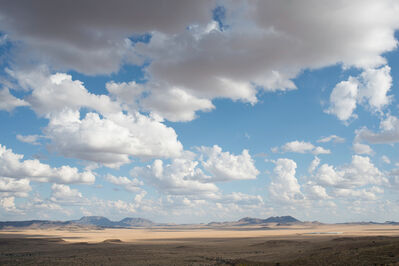 Peter Brown, 'West Texas: Fort Davis plain from Davis Mountains', 2012