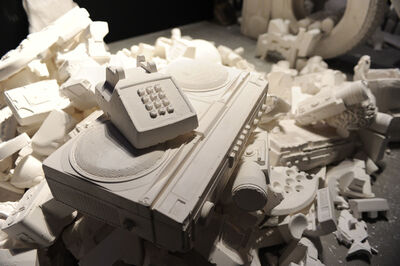 Daniel Arsham, 'The Future Was Written', 2015