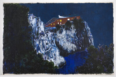 Enoc Perez, 'Casa Malaparte (Night)', 2008