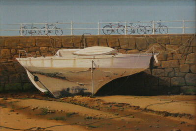 Carl Laubin, 'Boat in St. Aubin Harbour'