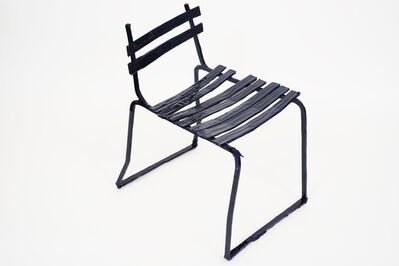 Jean-Pascal Flavien, ''Beautiful chairs agonise'', 2019