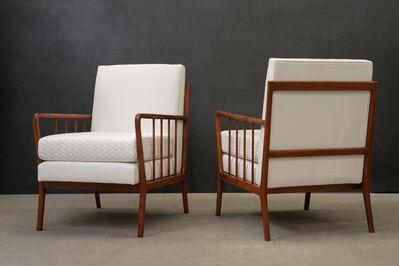 Rino Levi, 'Pair of armchairs', ca. 1950