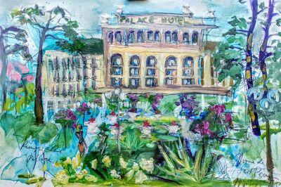 Norma de Saint Picman, 'Kempinski Palace, en face', 2019