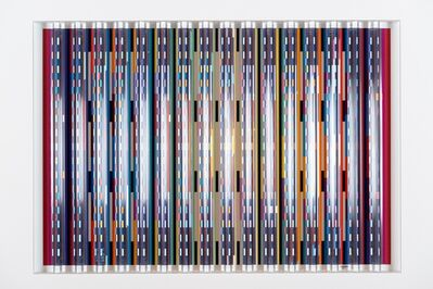 Yaacov Agam, 'Midnight Blue', ca. 1988