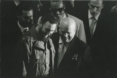 Sergio Larrain, 'Fidel Castro & Nikita Kruschev at the United Nations,', 1960