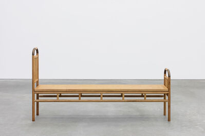 Sandra Cinto, 'Banco Cama [Bench bed]', 2019