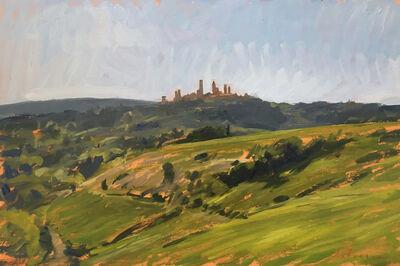 Marc Dalessio, 'San Gimignano', 2019