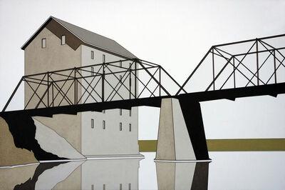 William Steiger, 'Mill Bridge Reflection II', 2016