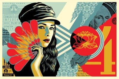 Shepard Fairey, 'Fan The Flames', 2019