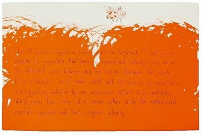 Jim Dine, 'The old Professor', 1990-2000