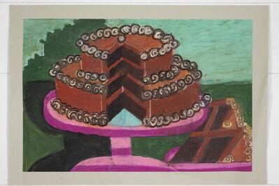 Camille Holvoet, 'Untitled (Chocolate Cake)', 2015
