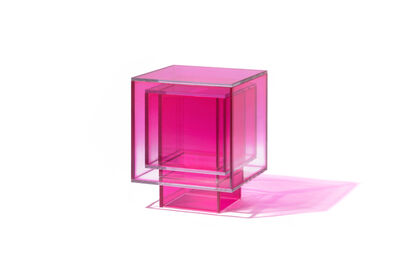 Studio BUZAO, 'NULL Hot Pink Square Side Table', 2020