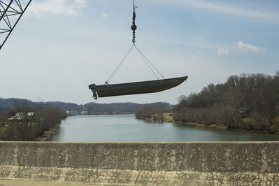 Matt Eich, 'Floating Boat, Knoxville, Tennessee', 2014