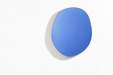 Sabine Marcelis, 'Off Round Seeing Glass Mirror - Blue - Medium', 2018