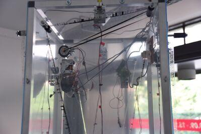 Jens Standke, 'Transparent Tape Machine (detail)', 2016