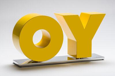 Deborah Kass, 'OY/YO Sculpture', 2018