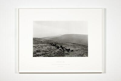 Richard Long, 'Larksong Line', 2015