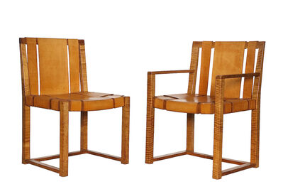 T.H. Robsjohn-Gibbings, 'Two Custom Designed Side Chairs', ca. 1940