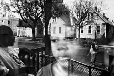 Paolo Pellegrin, 'A family in the Crescent area of Rochester', 2012