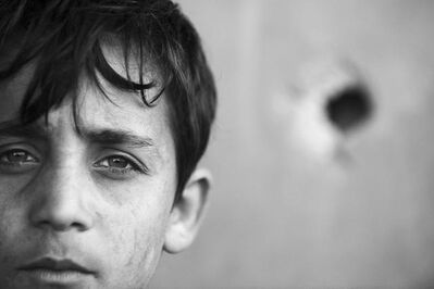 Anthony Dawton, 'Boy's Head, Beit Hanoun', 2011