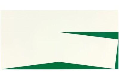 Carmen Herrera, 'Blanco y Verde', 1960/2010