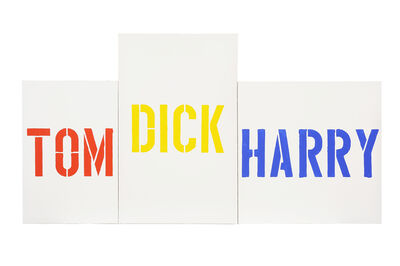 Robert MacPherson (b. 1937), 'Mayfair: 14, Tom, Dick & Harry', 1993