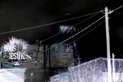 MICHEL TABANOU, 'SOUS ANESTHESIE ', 2017