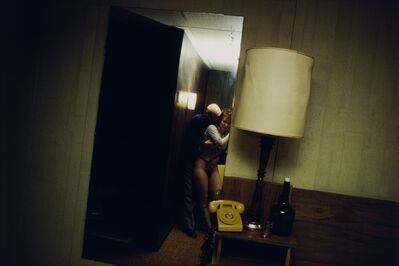 Nan Goldin, 'Nan and Dickie in the York Motel, New Jersey', 1980