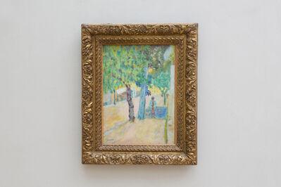 Pierre Bonnard, 'Personnages dans la rue', ca. 1925
