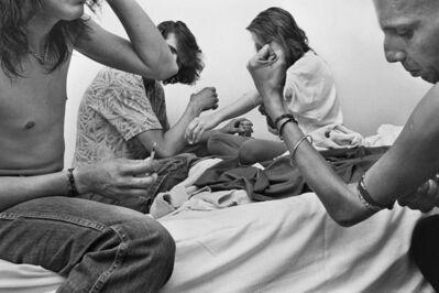 Jim Goldberg, 'Slamming Alcohol, Los Angeles, California', 1989