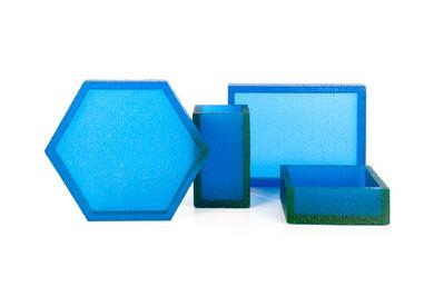 Sylvain Willenz, ''Block' blue 811', 2012