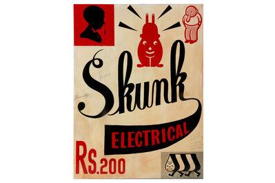 Gary Taxali, 'Skunk Electrical Soap', 2012